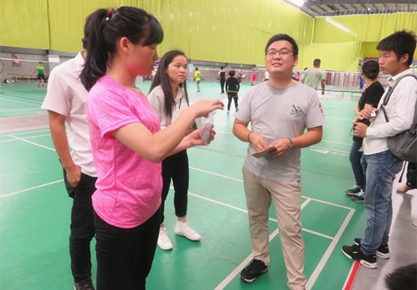 高潔雅羽毛球賽見證高潔雅專業除甲醛時,注重勞逸結合。