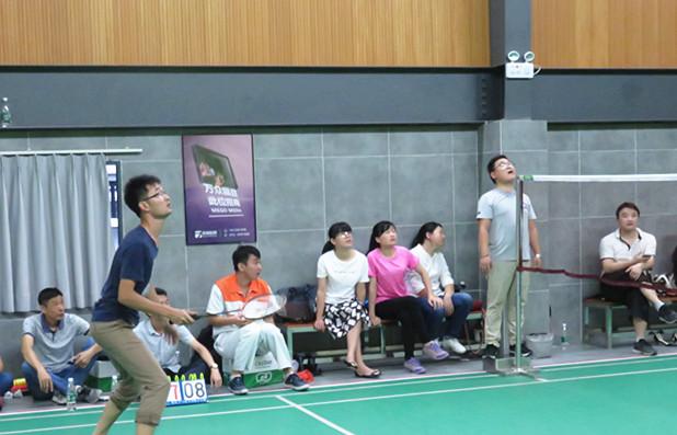 高潔雅男女混合雙打羽毛球賽風采