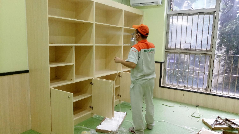 学校除甲醛案例—深圳布吉乐贝儿早期教育