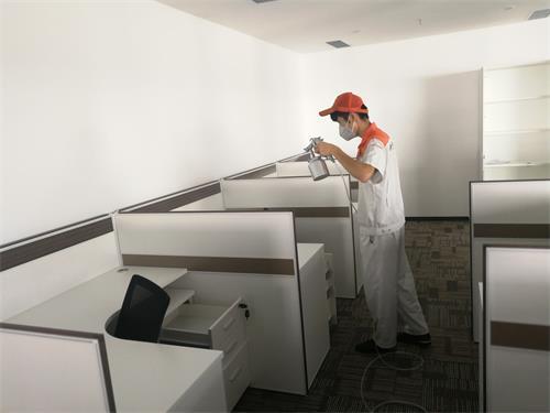 办公室除甲醛治理—深圳湾生态科技园