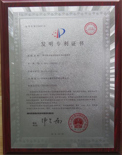 发明专利证书牌匾