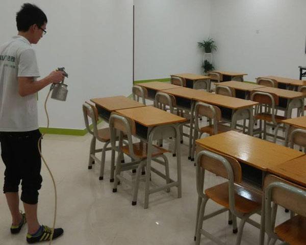 高洁雅甲醛治理-桃李教育幼儿园