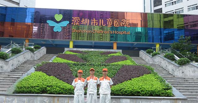 深圳市儿童医院——高洁雅甲醛治理