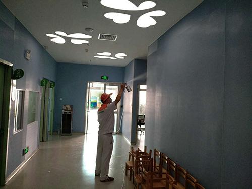 室内空气治理案例--深圳市儿童医院