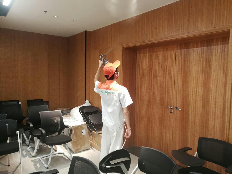 室内空气治理——深圳龙岗书城