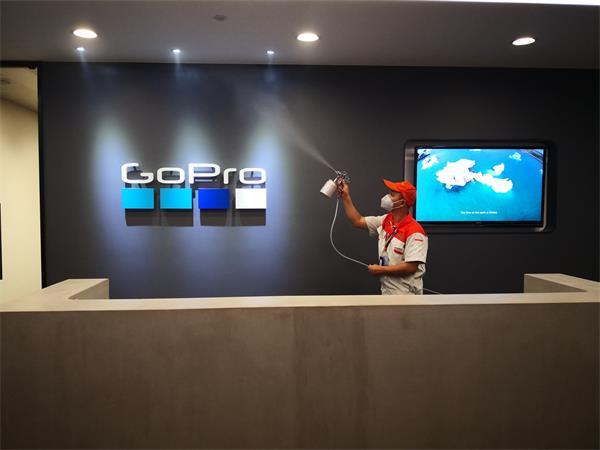 室内空气治理案例——中航中心GOPRO办公室治理