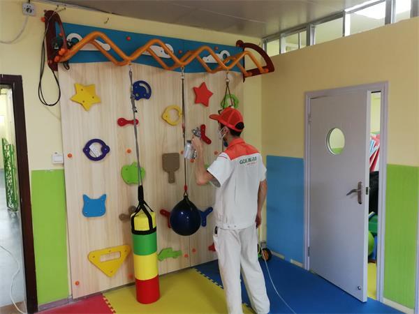室内空气治理案例——仁善康复福利院