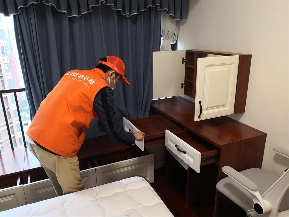新房室内空气治理—御龙豪园家庭治理