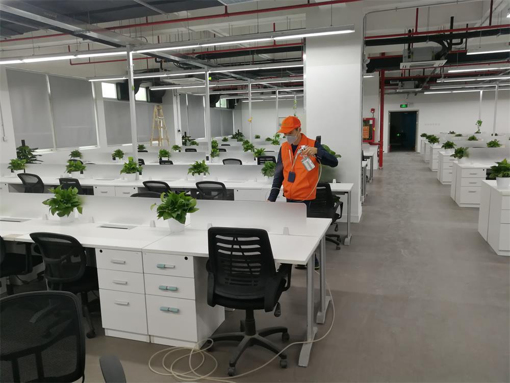 办公室除甲醛治理—金荣达工业园区