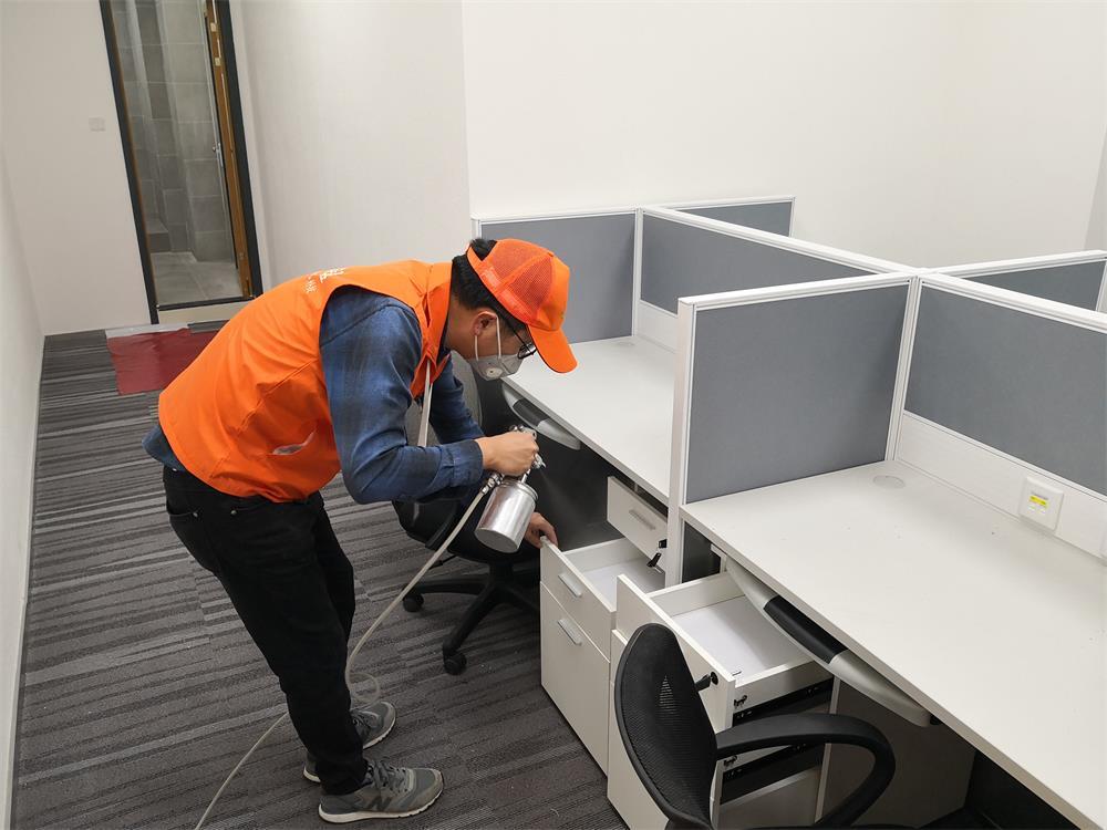 深圳办公室除甲醛治理—中国移动大厦