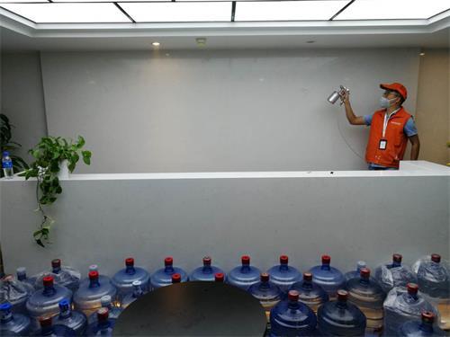 高洁雅办公室除甲醛案例:福田同心大厦