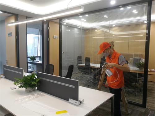 高洁雅除甲醛办公室案例:中国人寿大厦