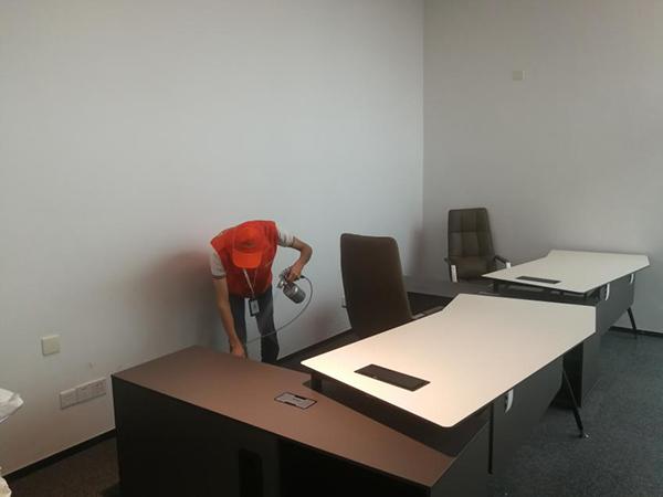 高洁雅办公室除甲醛案例:益科大厦