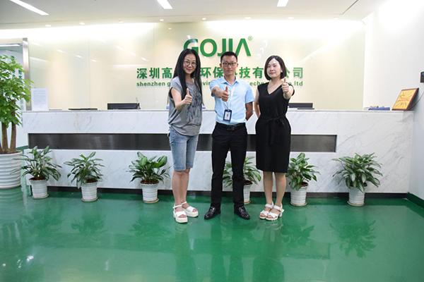 热烈欢迎深圳高洁雅加盟商:四川肖总