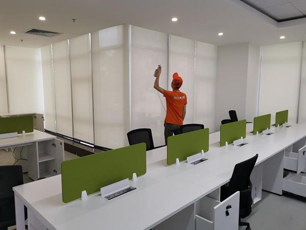 高洁雅办公室除甲醛案例:深茂商业中心