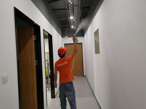高洁雅办公室除甲醛案例:TCL大厦